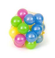 Кульки для сухого басейна 6,5см, 32шт. перламутр