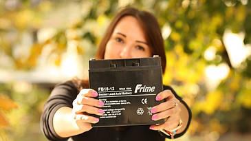 Аккумулятор Frime FB18-12