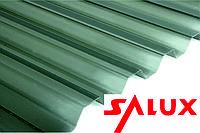 Димчастий шифер Салюкс Salux ХВИЛЯ 1.8*0.9 (прозорий лист), фото 1