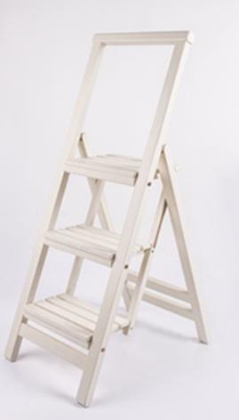 Стремянка деревянная складная Евродом, цвет на выбор, фото 2