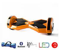 Гироскутер Lambo 8′ digital оранжевый (Led, Bluetooth, пульт, сумка)