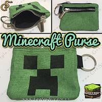 "Кошелек для мелочи Minecraft - ""Minecraft Purse"""