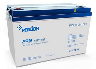 Аккумулятор MERLION GP12100M11