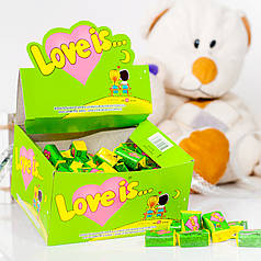Жвачки LOVE IS... яблоко лимон