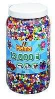 Термомозаика Hama Набор цветных бусин 13.000 шт midi, 50 цветов (211-68), фото 1