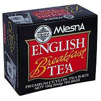 Черный чай Mlesna Английский завтрак в пакетиках арт. 02-011 100г