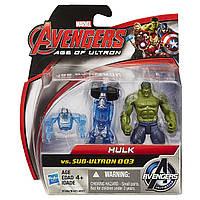 "Игровой набор Халк против Альтрона - Hulk vs Sub-Ultron , ""Age of Ultron"", Hasbro Avenge"