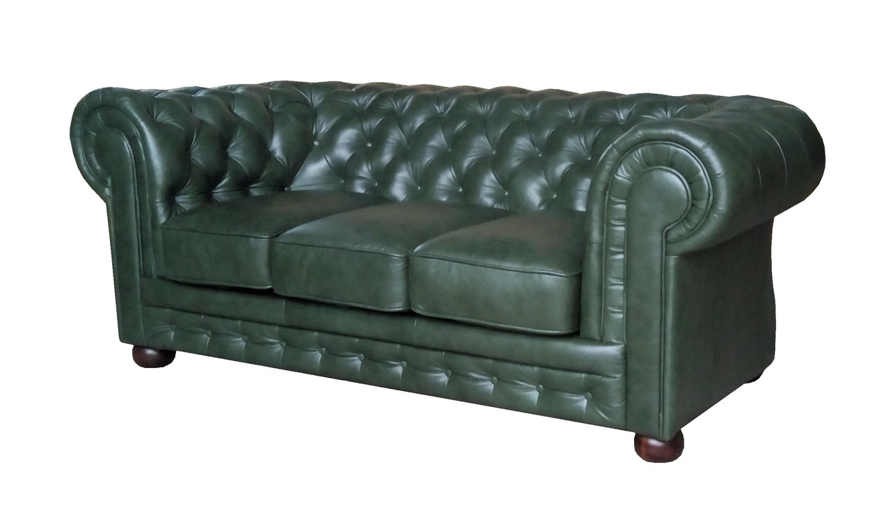 "Кожаный диван ""Chester"" Честер, (длина 200)"