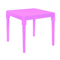 Стол Алеана розовый