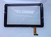 Тачскрин / сенсор (сенсорное стекло) для Icoo D90m (черный цвет, самоклейка)