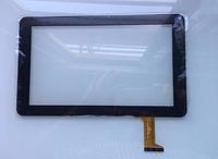 Тачскрин / сенсор (сенсорное стекло) для Icoo D90m (черный цвет, самоклейка), фото 1