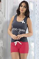 """Пижама женская футболка с шортами """"Maranda"""", Турция"""