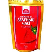 Зеленый чай Клубника арт. 502 100г.
