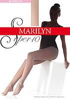 Marilyn SUPER 10 den женские колготки черные ( nero ),4-L, фото 1