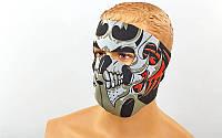Маска лицевая ветрозащитная MS-4344-4 Tribal Skull