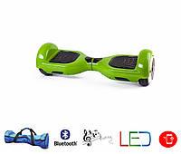 Гироскутер Classic 6.5′ digital зеленый  (Led, Bluetooth, сумка, приложение к смвртфону)