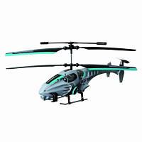 Вертолет на ИК управлении Auldey NAVIGATOR круиз-контроль (синий, 20 см, 3 канальный, с гироскопом)