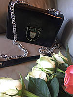 Сумка реплика Dior диор чёрная Мини