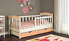 Детская кровать для девочки от 3 лет с бортиками Конфетти, фото 7