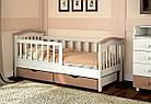 Детская кровать для девочки от 3 лет с бортиками Конфетти, фото 8