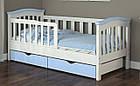 Детская кровать для девочки от 3 лет с бортиками Конфетти, фото 9
