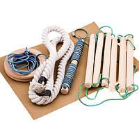 Набор для шведской стенки (кольца,канат,веревка). Распродажа