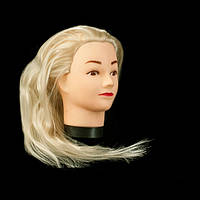 Учебный манекен для отработки стрижки, ,блондинка GLV-00B