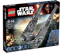 LEGO Star Wars Командный шаттл Кайло Рен (Kylo Ren's Command Shuttle™) 75104