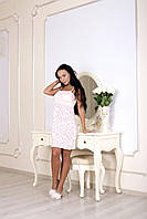 Сорочка Devore нежно-розового цвета 366.