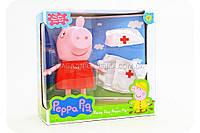 Детский игровой набор «Свинка Пеппа в медицинском костюме» PP6050-1