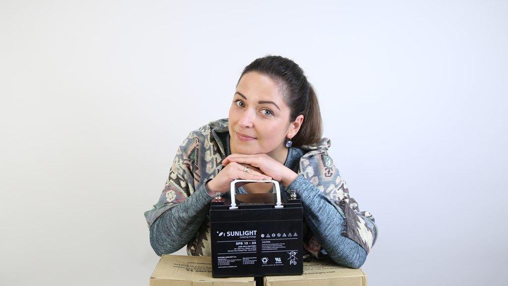 Аккумуляторная батарея Sunlight AccuForce 12-33
