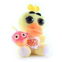 Мягкая игрушка брелок Пять ночей с Фредди Chica Чика 11 см FNAF48-42