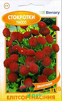 """Семена цветов Стокротки """"Тассо"""" красные, двулетнее, 10 семян, """"Benary"""", Германия"""