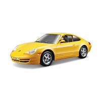 Авто-конструктор Bburago PORSCHE 911 CARRERA (желтый, 1:24)
