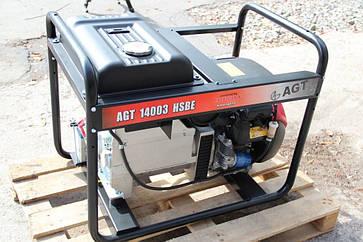 Бензиновый генератор AGT 12001 HSBE R16