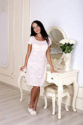 Сорочка Devore нежно-розового цвета 538.