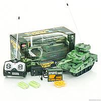Боевой танк, р\у, стреляет пульками, на аккум., 2 цвета
