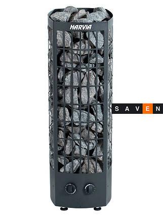 Электрическая каменка Harvia Classic Quatro QR 70 черная для сауны и бани, фото 2