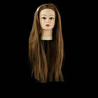 Учебная голова ,длина 65-70 см, цвет шатенка GLV-02S