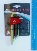 Набор шестигранников Bike Hand, цветные 6 штук