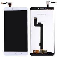 Дисплей (Lcd) Xiaomi Mi MAX white +touchscreen