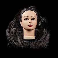 Учебная голова ,длина 65-70 см, цвет черный GLV-02A