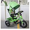 Детский трехколесный велосипед Tilly Trike  t-364, зеленый