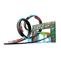 Игровой набор Bburago серии GoGears «Двойная петля» (трек с одной дорожкой,2 петли,1 машинка с инерц.механ.)