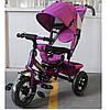 Детский трехколесный велосипед Tilly Trike  t-364, фиолетовый