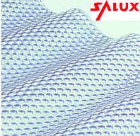 Салюкс пвх лист Salux Prisma 76/18 2х1.03 м прозора/бронзова хвиля