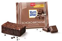 Шоколад Ritter sport schoko-brownie 100 г.