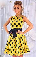 Женское платье в горох 25219 КТ-975