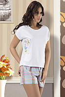"Пижама женская футболка с шортами ""Maranda"", Турция, размер L"