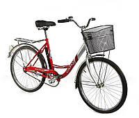 Дорожный велосипед 24 дюйма Lady New Салют F-5 красный***